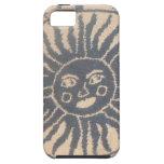 Tapicería de Sun iPhone 5 Case-Mate Cárcasas