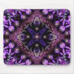 Tapicería ligera púrpura Mousepad del fractal Alfombrilla De Raton