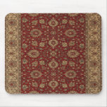 Tapicería persa roja del arabesque del escarlata tapetes de ratones