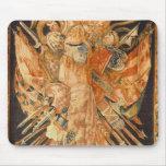 Tapicería que representa los trofeos de la guerra  mouse pad