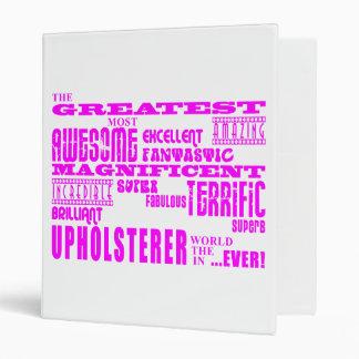 Tapiceros de los chicas: Tapicero más grande rosad