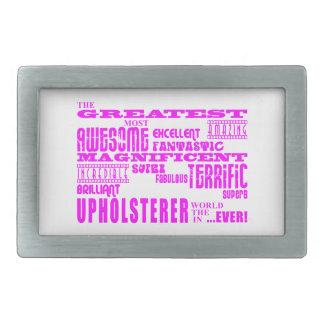 Tapiceros de los chicas: Tapicero más grande rosad Hebillas De Cinturón