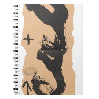 Tapies notebook