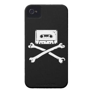 Taping casero de la piratería de la cinta y del iPhone 4 protectores
