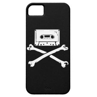 Taping casero de la piratería de la cinta y del funda para iPhone 5 barely there