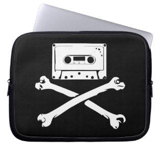 Taping casero de la piratería de la cinta y del pi manga computadora