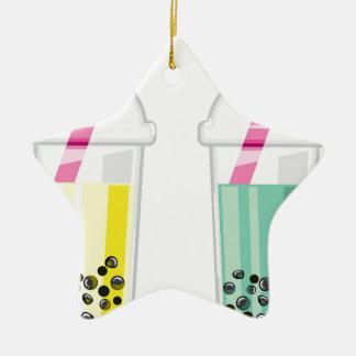 Tapioca Drink Ceramic Ornament