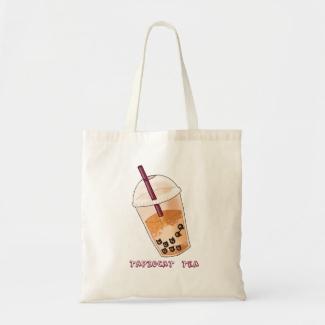 Tapiocat Tea - Tote Bag