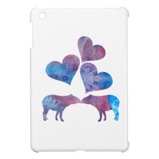 Tapir art iPad mini cover
