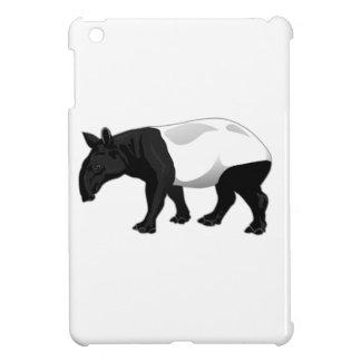 Tapir blanco y negro