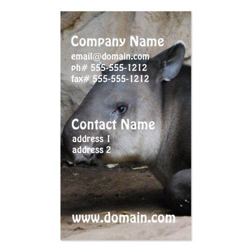 Tapir Business Cards
