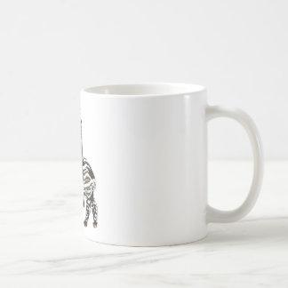 Tapir del em del paseo taza de café