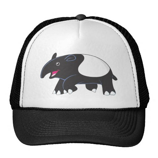 Tapir feliz gorra