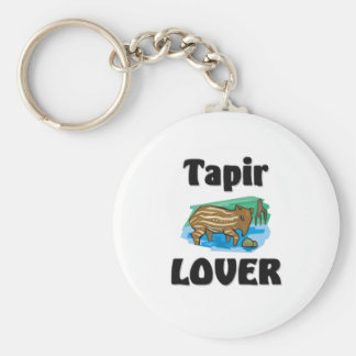 Tapir Lover Keychain