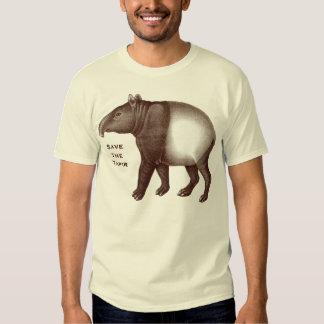 Tapir malayo - ahorre el Tapir, yo aman Tapirs Camisas