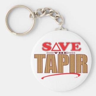 Tapir Save Keychain