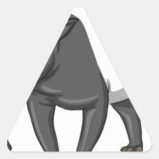 Tapir Triangle Sticker
