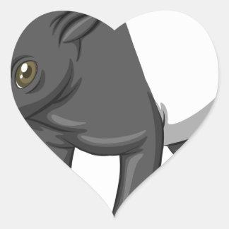 Tapir Heart Sticker