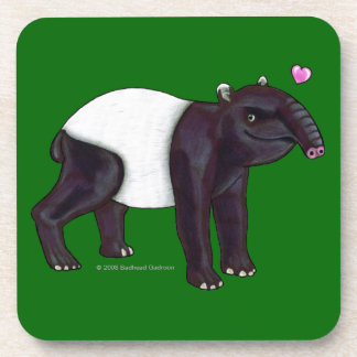 Tapir Want Hugges Cork Coaster