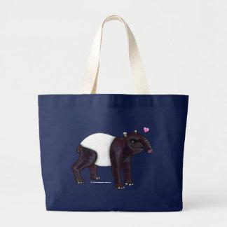 Tapir Wants Hugges Dark Bags