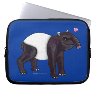 Tapir Wants Hugges Laptop Bag