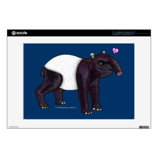 Tapir Wants Hugges Laptop Skin