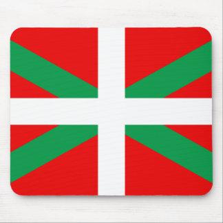 Tapis de Souris avec Drapeau Basque Ikkurina