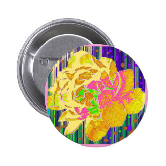 Tapistry Style Old English Rose-Puce Colors Pins