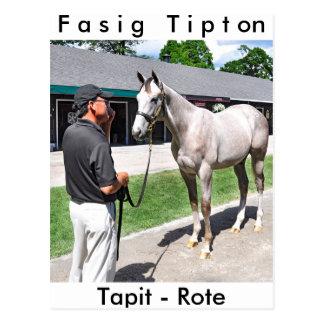 Tapit -Rote at Fasig Tipton Postcard