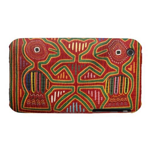 Tapiz colorido de los indios 2 de Cuna Case-Mate iPhone 3 Protector