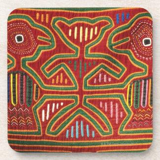 Tapiz colorido de los indios 2 de Cuna Posavasos