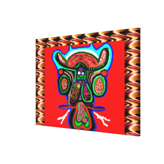 TAPORI ONE - High Spirited Don BULL Canvas Print