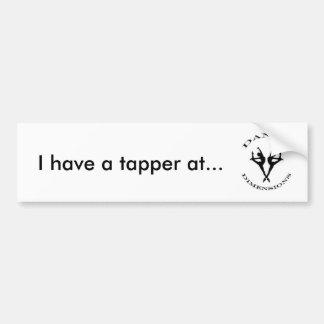 tapper bumper sticker