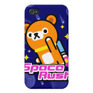 Tappi Bear - Space Rush iPhone 4 Cover
