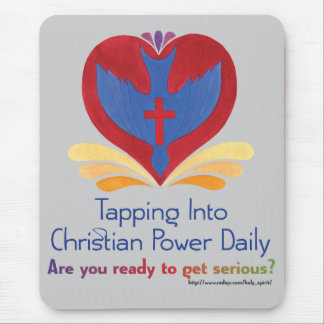 Tapping Into Power Daily Mouse Pad