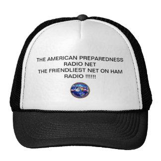 TAPRN-LOGO-150-gif, THE AMERICAN PREPAREDNESS R... Trucker Hats