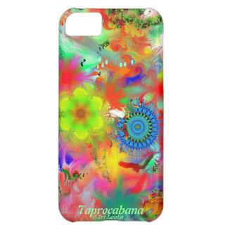 taprocabana - favorable móvil torcido del cepillo funda para iPhone 5C