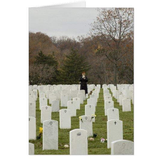 Taps at Arlington National Cemetery Card