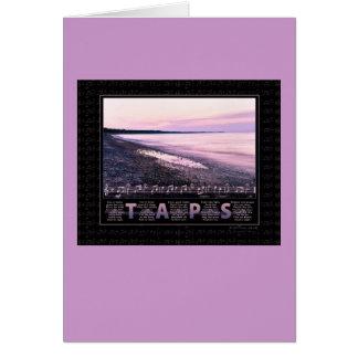 Taps Memorial Card