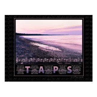 Taps Memorial Postcard