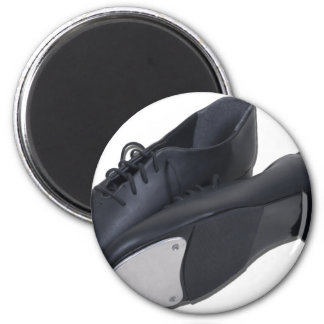 TapShoes012511 2 Inch Round Magnet