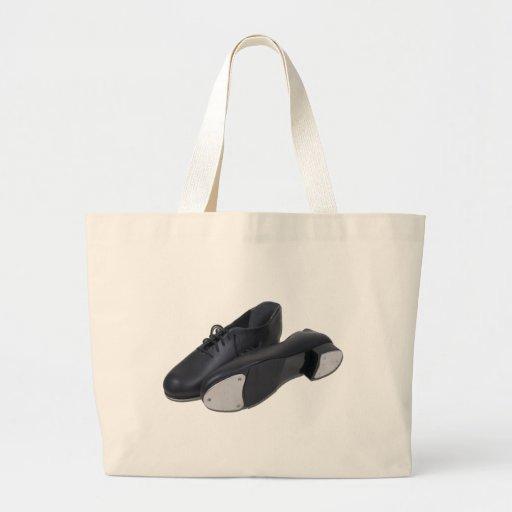 TapShoes012511 Large Tote Bag