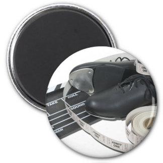 TapShoesMovieBoardTickets051411 2 Inch Round Magnet