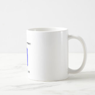 Tapwater is poisoned classic white coffee mug