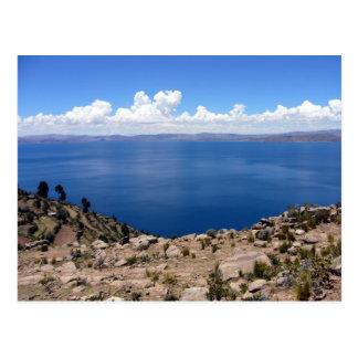 taquile titicaca postcard