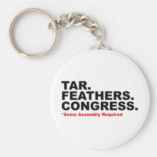 Tar&Feathers Keychain
