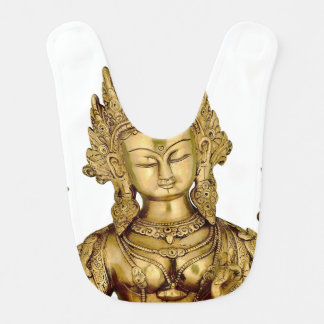 Tara Buddha Buddhist Goddess Yoga Tibet Art Peace Baby Bib