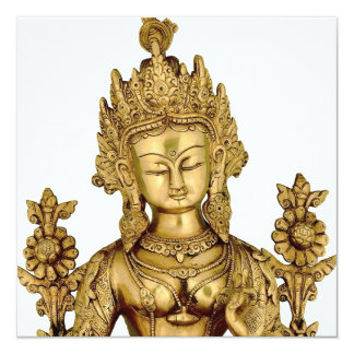 Tara Buddha Buddhist Goddess Yoga Tibet Art Peace Card