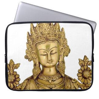 Tara Buddha Buddhist Goddess Yoga Tibet Art Peace Computer Sleeve