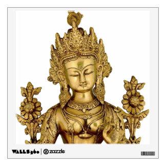 Tara Buddha Buddhist Goddess Yoga Tibet Art Peace Wall Sticker